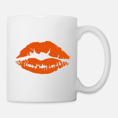 Fashion Lipstick Kiss Lips Women Fashion - Mug