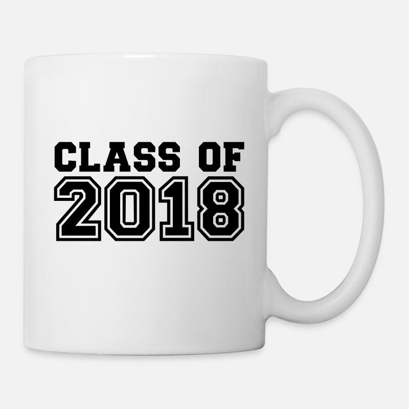 2018 Mugs & Drinkware - Class of 2018 - Mug white