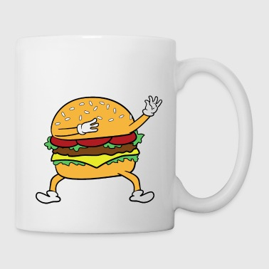 Dabbing Dancing Burger - Coffee/Tea Mug