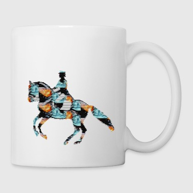 Dressage Riding Design Creative Gift Idea - Coffee/Tea Mug
