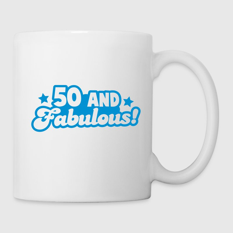 50 fifty and FABULOUS! - Coffee/Tea Mug