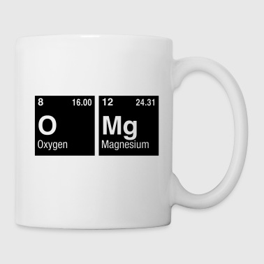 OMg written with Elements of the Periodic Table - Coffee/Tea Mug