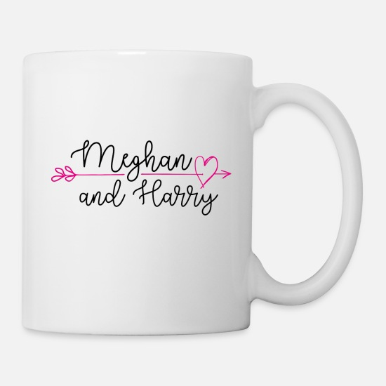 Wedding Mugs & Drinkware - Royal Wedding Meghan And Harry - Mug white