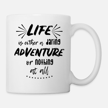 Travel Life is an adventure | Wanderlust Travel Quote - Mug
