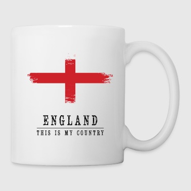 ENGLAND FLAG - THIS IS MY COUNTRY - Coffee/Tea Mug