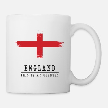 England ENGLAND FLAG - THIS IS MY COUNTRY - Coffee/Tea Mug