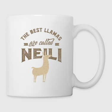 Name Day THE BEST LLAMAS ARE CALLED NEILI - Coffee/Tea Mug