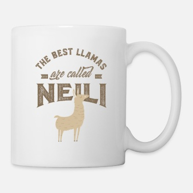 First THE BEST LLAMAS ARE CALLED NEILI - Coffee/Tea Mug