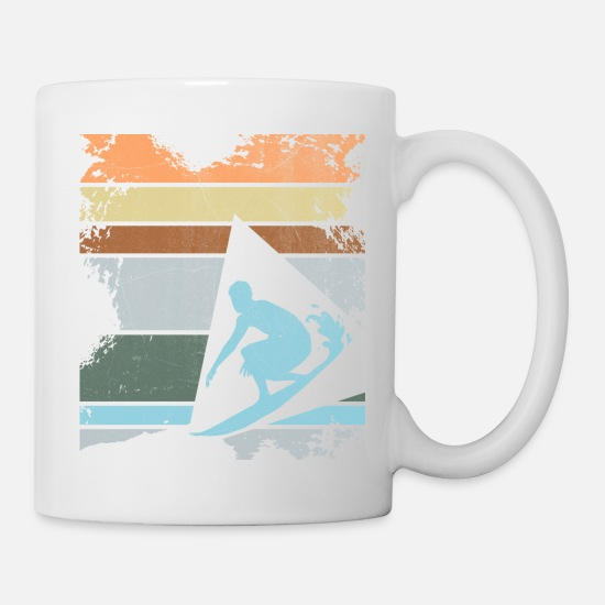 Surfer Mugs & Drinkware - Surfer - Mug white