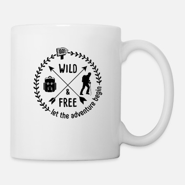 Great Ideas For Hikers Hiking T-shirt I hikers let the adventure begin - Mug