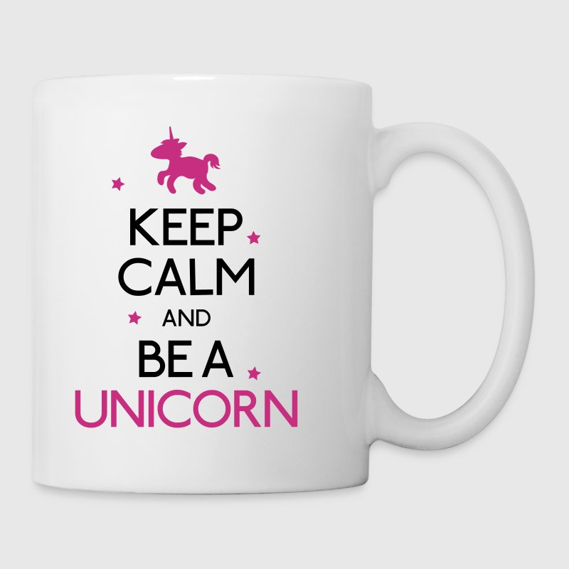 keep calm and be a unicorn - Coffee/Tea Mug
