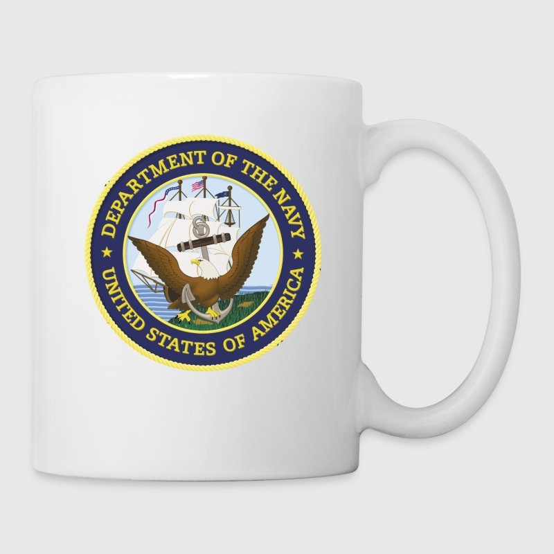 US Navy Don't Give Up The Ship Shirt - Coffee/Tea Mug