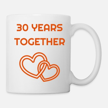 Anniversary Marriage Mariage Wedding Anniversary 30 Pearl - Coffee/Tea Mug