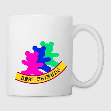 best friends / friends - Coffee/Tea Mug