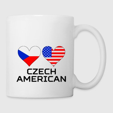 Czech American Hearts - Coffee/Tea Mug