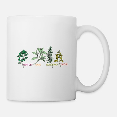 Folk Music Parsley Sage Rosemary & Thyme - Coffee/Tea Mug