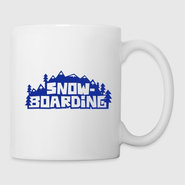 snowboarding - Coffee/Tea Mug