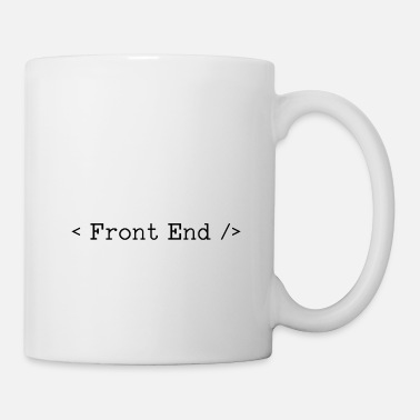 End Front end developers - Mug