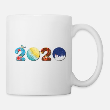 New Year New Year 2020 - Happy new year 2020 - new year - Mug