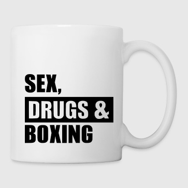 sex drugs boxing - Coffee/Tea Mug