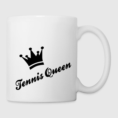 Queen tennis queen - Coffee/Tea Mug