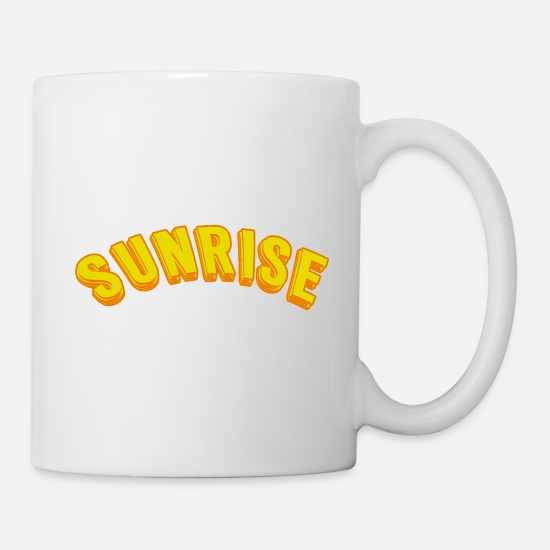 Lifestyle Mugs & Drinkware - Sunrise - Mug white