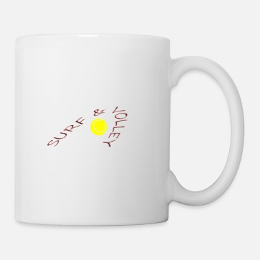 Volley surf&volley - Coffee/Tea Mug