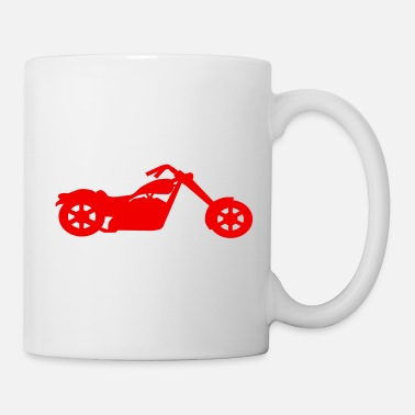 chopper low rider vector - Coffee/Tea Mug