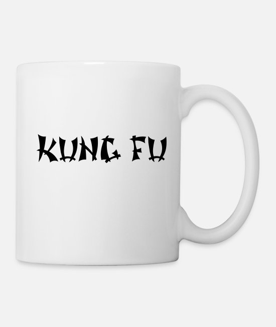 Karate Mugs & Cups - Kung fu - Mug white