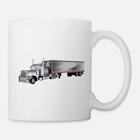 Driver Mugs & Drinkware - Trucking - Mug white