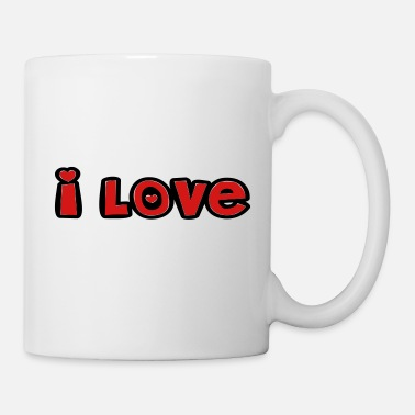 Soulmate ❤↷I Love Romantic Design-Showing Some Love↶❤ - Mug