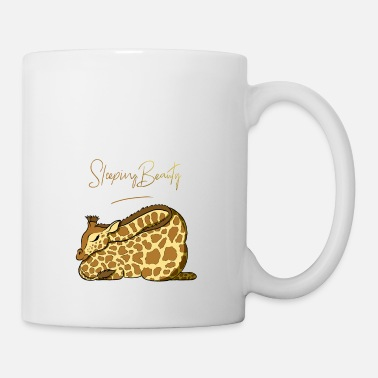 Sleeping Beauty Sleeping Beauty cute giraffe - Mug