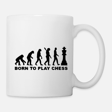 Darts bornt to play chess - Mug