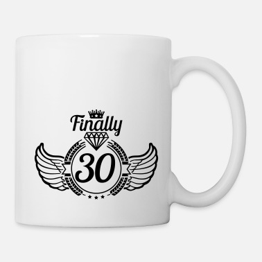 Years Old 30_finally_design_yb1 - Mug