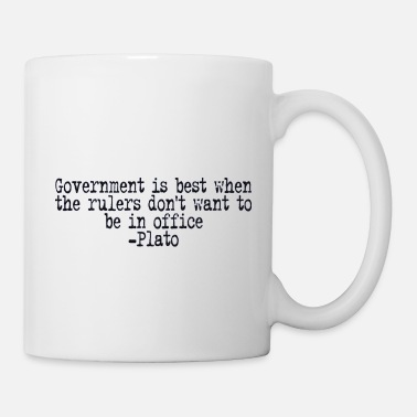 Government Plato on Government - Mug