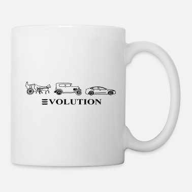 Automobile 3volution of Automobile - Mug