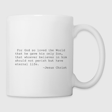 Jesus quotations - Coffee/Tea Mug