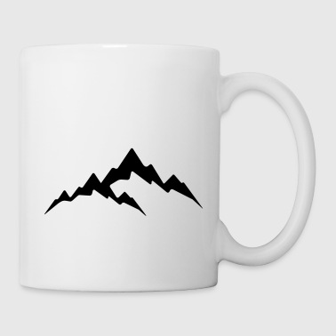 Mountain - Alps - Coffee/Tea Mug