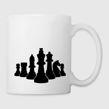 king of chess - Coffee/Tea Mug