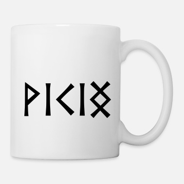 Runes Viking in Runes - Mug