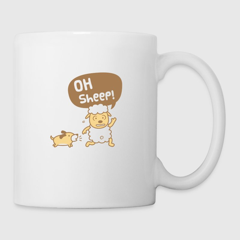 Cute Oh Sheep Pun Humor - Coffee/Tea Mug