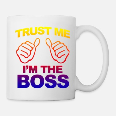 Grind im-the-boss-gradient - Mug