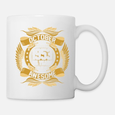 Born In October October 1953 65 Years Being Awesome - Mug
