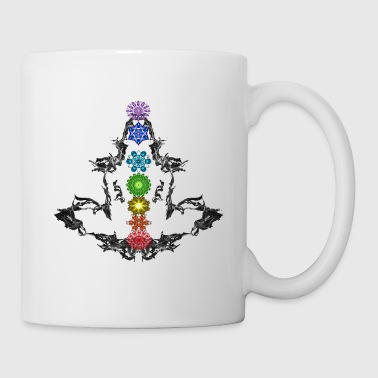 Chakra Full Chakra Set Lotus - Coffee/Tea Mug
