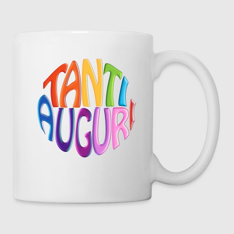 Tanti Auguri (Round Text) - Coffee/Tea Mug