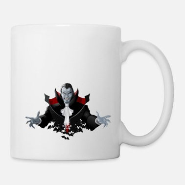 Count Dracula Count Dracula Vampire Monster Bat - Mug