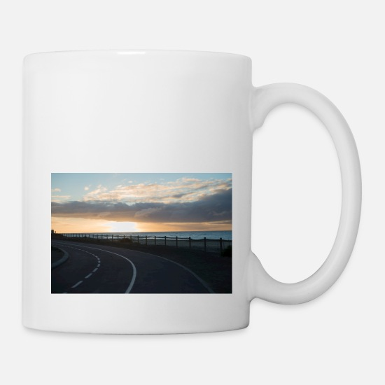 Spain Mugs & Drinkware - Sunrise road - Mug white