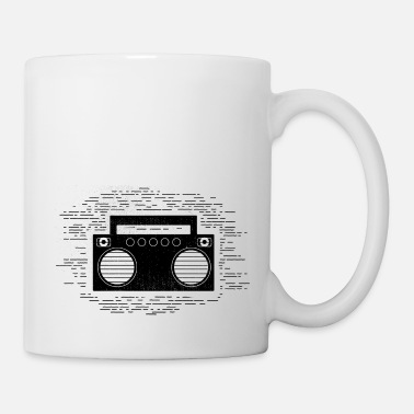 Tape Funny Cassette - Boom Box Music Sounds Songs Humor - Coffee/Tea Mug