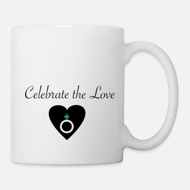 Bridesmaid celebrate the lovMerry Obey X-mas giftidea winter - Coffee/Tea Mug