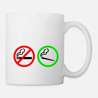 Smoking no smoking yes smoking - Mug
